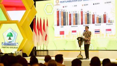 Photo of Buka Munas X Partai Golkar, Presiden Tekankan Pentingnya Stabilitas Politik di Indonesia