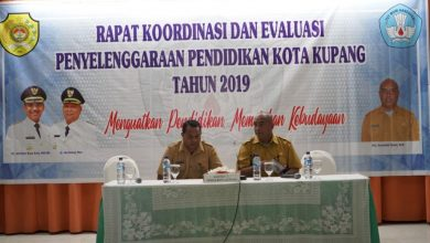 Photo of RAKOR DAN EVALUASI PENYELENGGARAAN PENDIDIKAN KOTA KUPANG TAHUN 2019