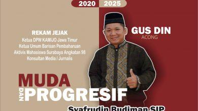 Photo of Gus Din Ketua Relawan KAMIJO Jawa Timur Maju Sebagai Bakal Calon Walikota Surabaya 2020-2025